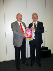 27th Aug 2014 - District Governor visits