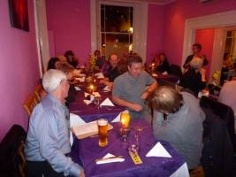 Curry Evening - Ganges Restaurant   7.30pm