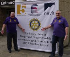 Bingley Five Rise Beer Festival 2016