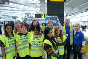 Children in Need Collection Heathrow 13th Nov 2015