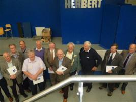 Visit to Rod Herbert's Factory.