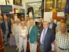 Members visit to the Carrillon