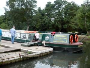 River Wey Boat Trip Aug.2010