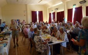 Summer Lunch at Salwayash village hall
