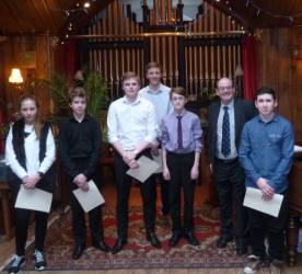 Young Musician District Final February 7th 2015