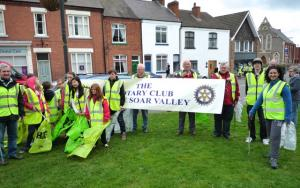 Rotary Spring Clean in Mountsorrel