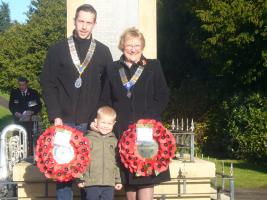 Remembrance Sunday parade - Warsop