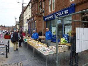 BOOKSTALL RAISES £2,000