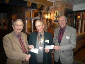 £4,200 for Local Charities