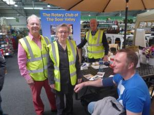 "We offered free blood pressure checks @ WyeVale garden centre as part of the ""Know Your Blood Pressure"" event with the Stroke Association."