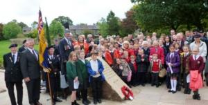 Opening of Commemorative World War I Garden