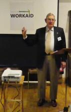 Speaker Report for 21 January 2016 - Norman Rhodes on Workaid