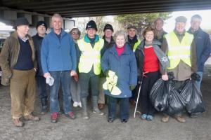 Litter Pick - Docks Flyover