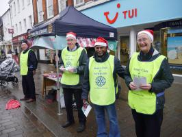 Promoting the Santa Fun Run