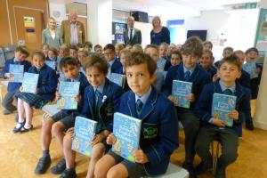 We distribute 240 Usborne Dictionaries to year 5 pupils at 7 Primary Schools in Kew.