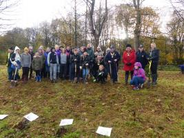 Tree Planting at Pheonix Park