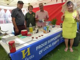 The Club's Pimm's Stall at Kew Fete.