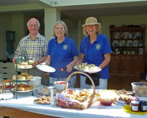 Charity Cream Tea at Jenny Masons June 2013