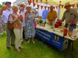 The Club's Pimm's Stall at Kew Fete 2019.