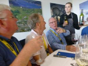 Rotarians kindly hosted by Nikon