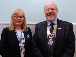 Visit from Denise Gee of ELHT&Me
