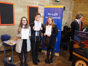 Rotary Youth Speaks Regional Final, Alnwick, 13th March 2016
