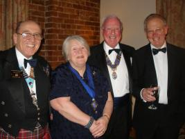 The Rotary Club of Oswestry Charter Night