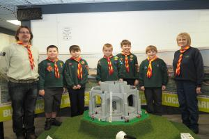 Highfield Cubs visit the Lego Tower