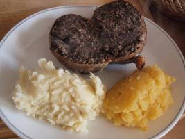 Burns Supper at Burnett Arms Hotel