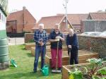 A new raised garden for Pott Row First School