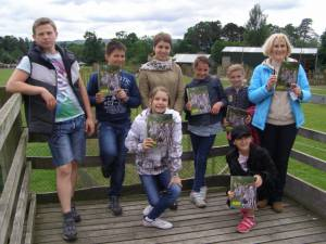 Chernobyl Kids visit to Blair Drummond Safari Park