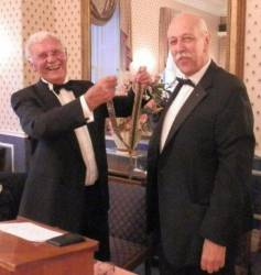 Changing of the Guard at Tenby Rotary