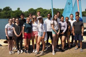 Princes Risborough School Rotary Interact Club visit Bury Lakes July 2018