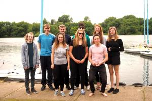 Princes Risborough School Rotary Interact Club spend a day sailing at Bury Lakes Young Mariners July 2016