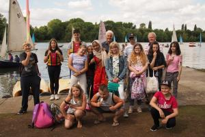 Bucks Young Carers Sailing Days  2018