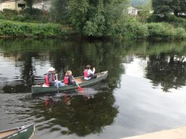 Canoeing trip to Redbrook