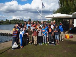 Bucks Young Carers Sailing Day 2014