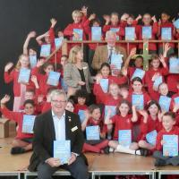 Dictionaries for pupils at Queen's School!