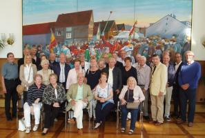 Exchange visit to our twin Rotary Club Russelshiem Main Spitze, Germany