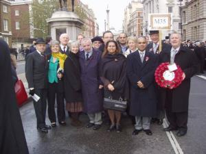 Remembrance Sunday at the Cenotaph - 2005