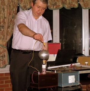 Electrical Demonstration by Martin Dale