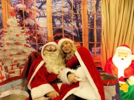 Santa at Darwen Market