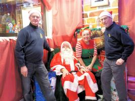 Santa's Grotto at Darwen Market