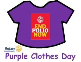 Purple Clothes Day Events
