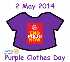 Purple Clothes Day WINCHCOMBE Primary School