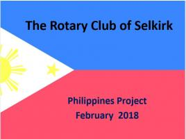 Philippines Project 2018