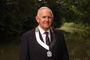 New President for Fleet Rotary 2016 - 17