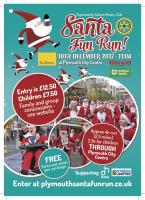 PLYMOUTH SANTA FUN RUN  2017