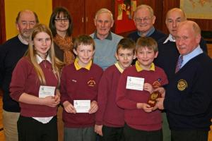 Penpont Win Thornhill Rotary Primary School Quiz 2010