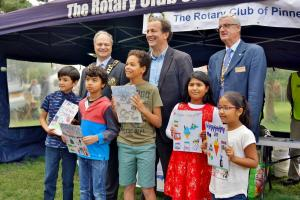 The art competition prizewinners